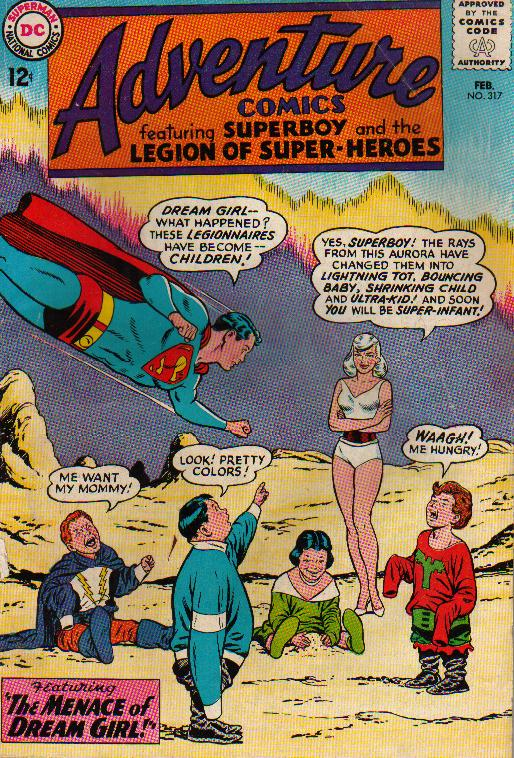 Adventure Comic book #317 Feb 1964